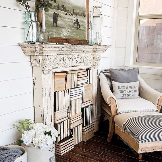 Photo of How to Decorate with Fireplace Mantels   Hammers N Hugs