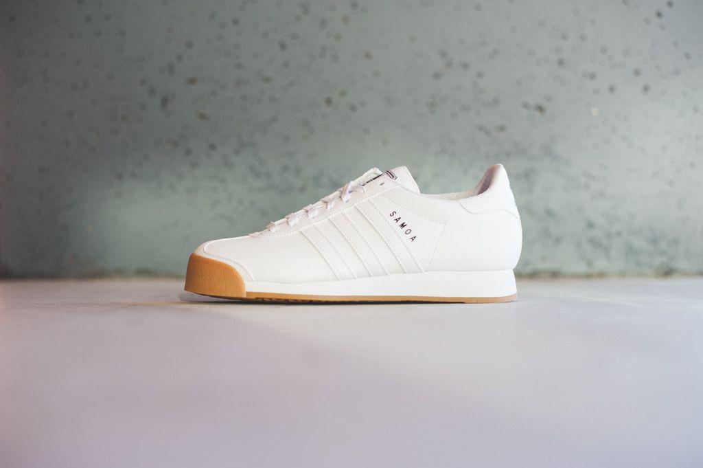 sports shoes 553f2 68a36 Adidas Samoa -  White Gum