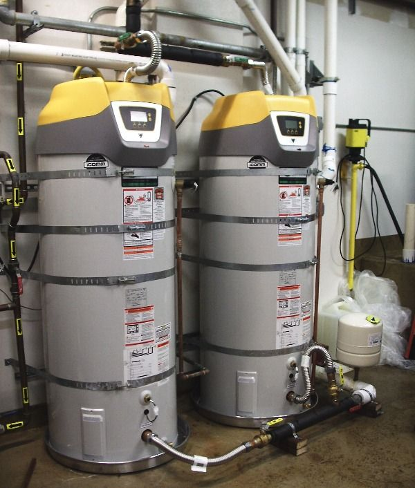 2 New High Efficiency Commercial Water Heaters These Make Over 500 Gallons Of Hot Water Every Hour But U Water Heater Repair Types Of Plumbing Heating Repair