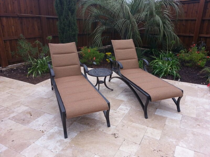 Mallin Volare chaise lounge chairs patio furniture Enjoy Your