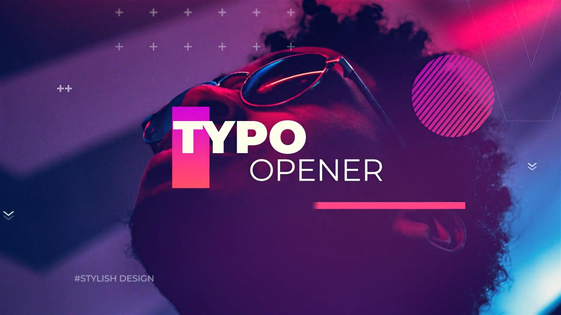 Typography Opener #motiongraphic