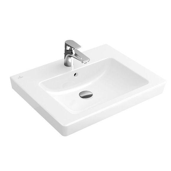 Villeroy & Boch Subway 2.0 Waschtisch weiß mit CeramicPlus | Bath ... | {Doppelwaschtisch villeroy & boch 41}