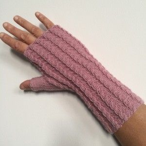 modele tricot gant facile