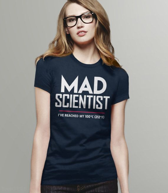 Science March 2017 Shirt: Mad Scientist | March for Science t shirt, scientist gift, funny science shirt, anti-trump tee shirt, geek tshirt