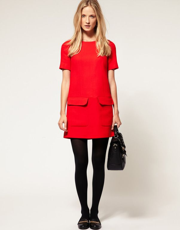 My Whistles ENGLAND  dress for NYC shopping