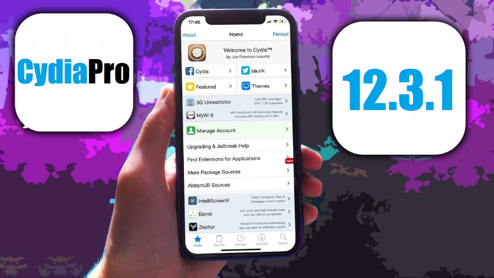 Download Cydia iOS 12.3.1 and within the simple procedure