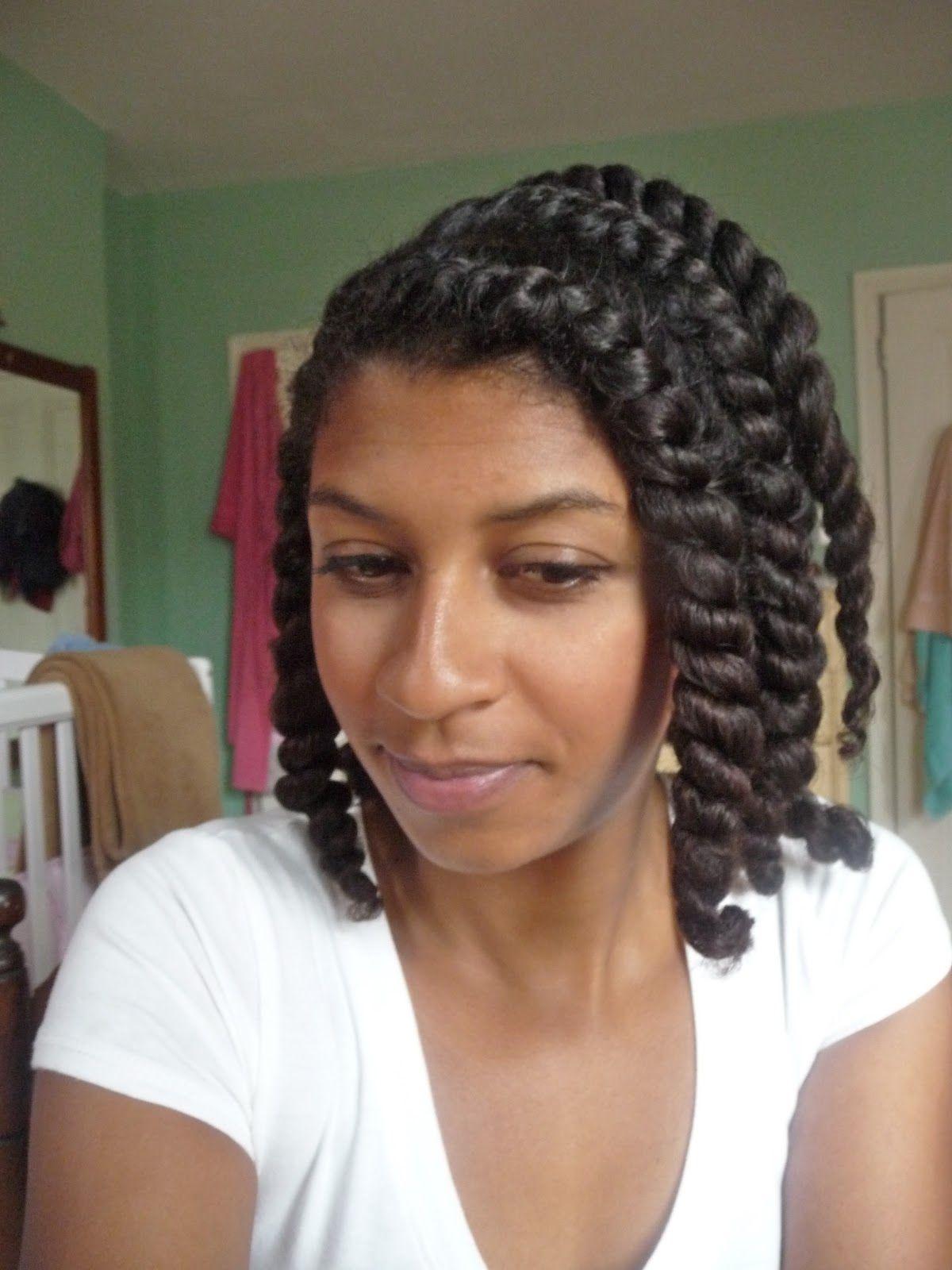 Shanti's Twist Out Technique + SheaMoisture Curl Enhancing