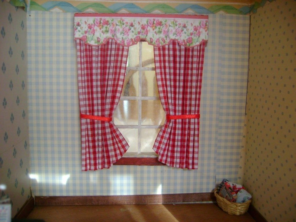 red cafe curtains for kitchen - Red Cafe Ideas
