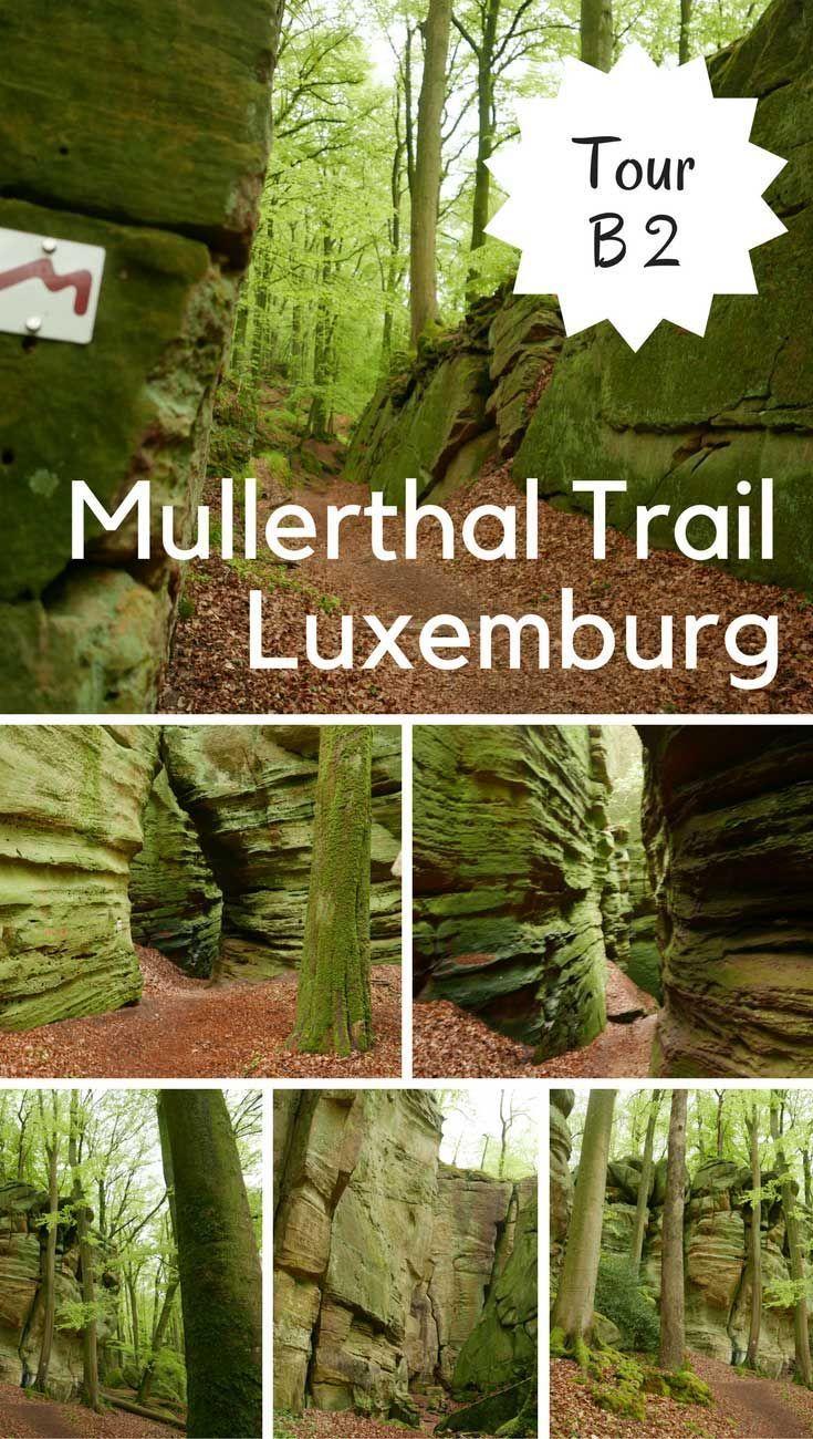 Luxemburg Tour B2 im Mullerthal - Wanderkulisse für Legenden