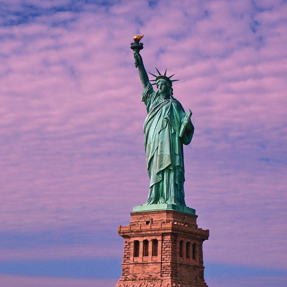 Kattobello Freiheitsstatue Glasbild In 2020 Freiheitsstatue Statue Bild Shop