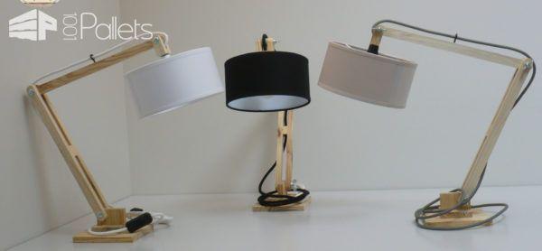 Lovely Little Pallet Lamp 1001 Pallets Lamp Wood Desk Lamp Wooden Floor Lamps