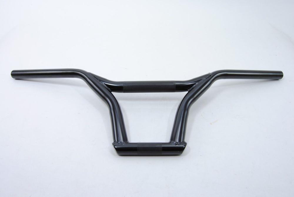 Bmx bike bicycle handlebar bar black 222mm promax bmx