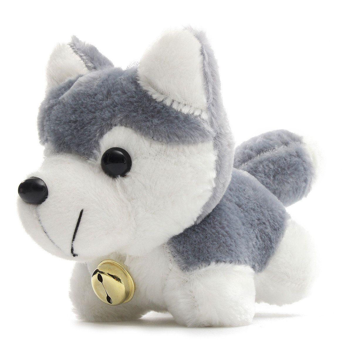 Husky Dog Cartoon Doll Stuffed Plush Kids Children Toy