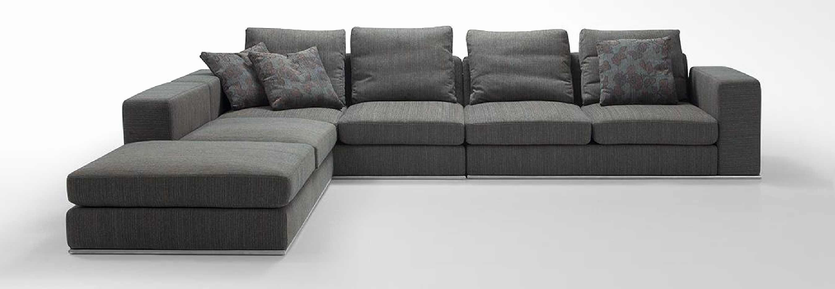Inspirational Modern Grey Sectional Sofa Pictures Modern Grey
