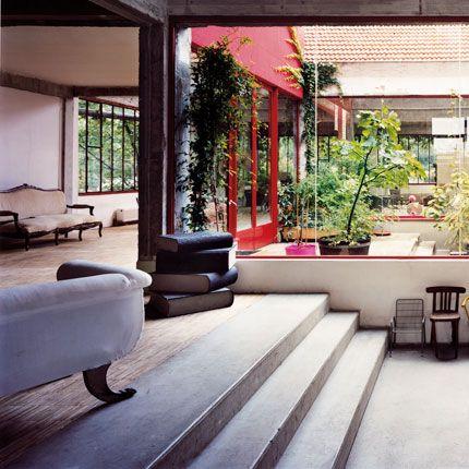 maison avec patio central sweet home pinterest