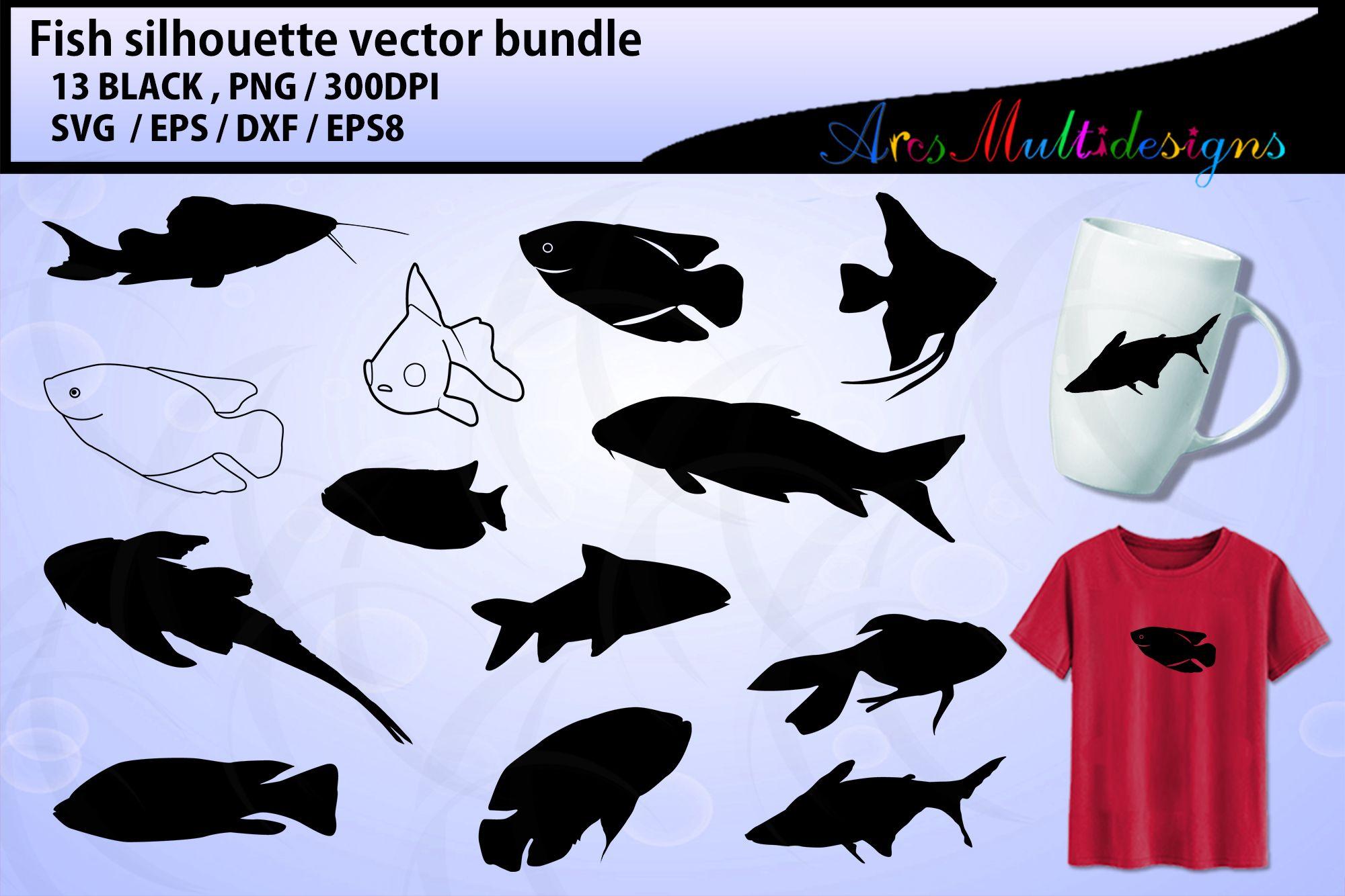 Download Fish Svg Digitanza In 2020 Fish Vector Fish Silhouette Fishing Svg