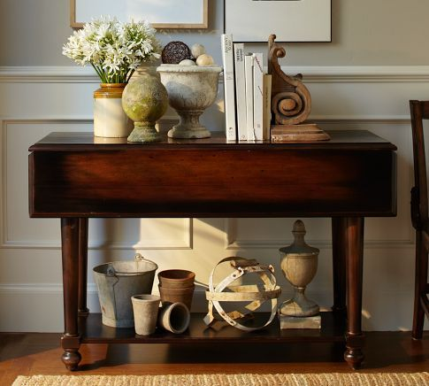This Would Be A Great Foyer Table Drop Leaf That Can Go From 19 5 To 36 Deep Come In Handy Sometimes