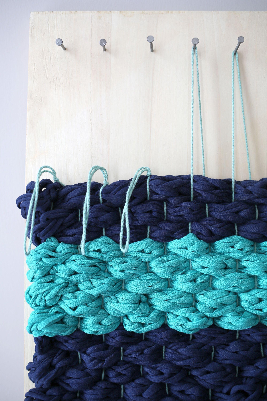 Chunky Woven Bath Mat DIY | Pinterest | Bath mat, Bath and Craft