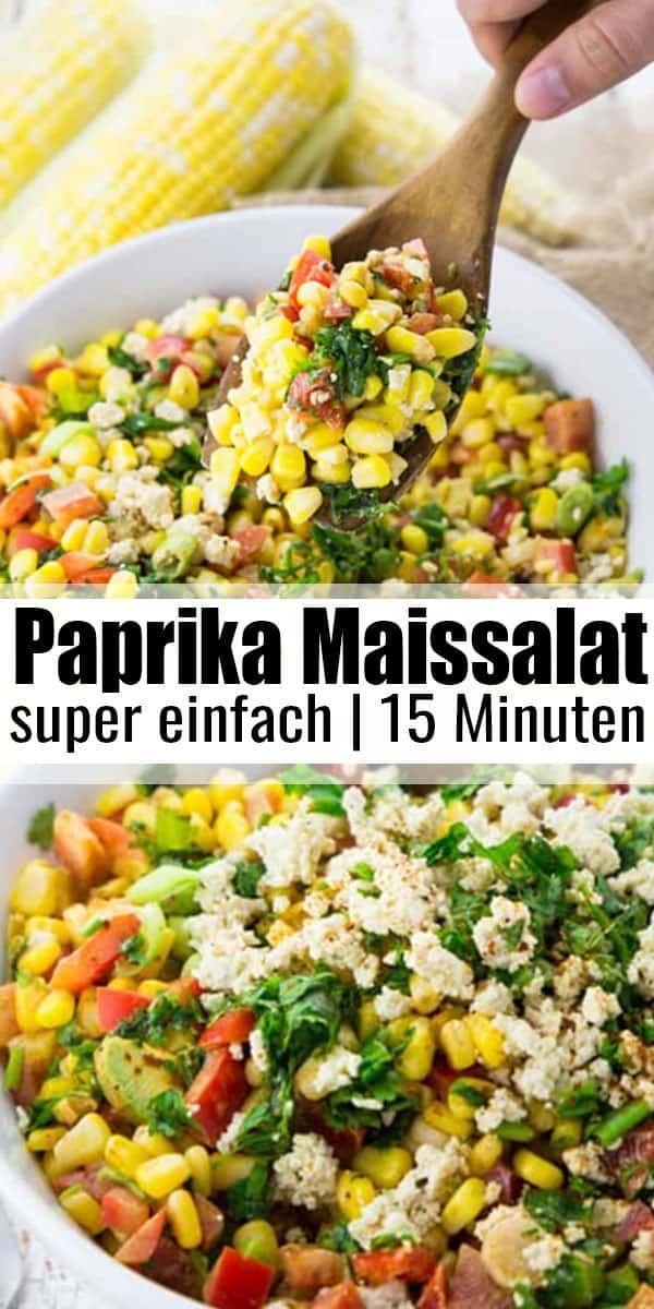 mit Paprika und Avocado  - -#easysummerrecipes