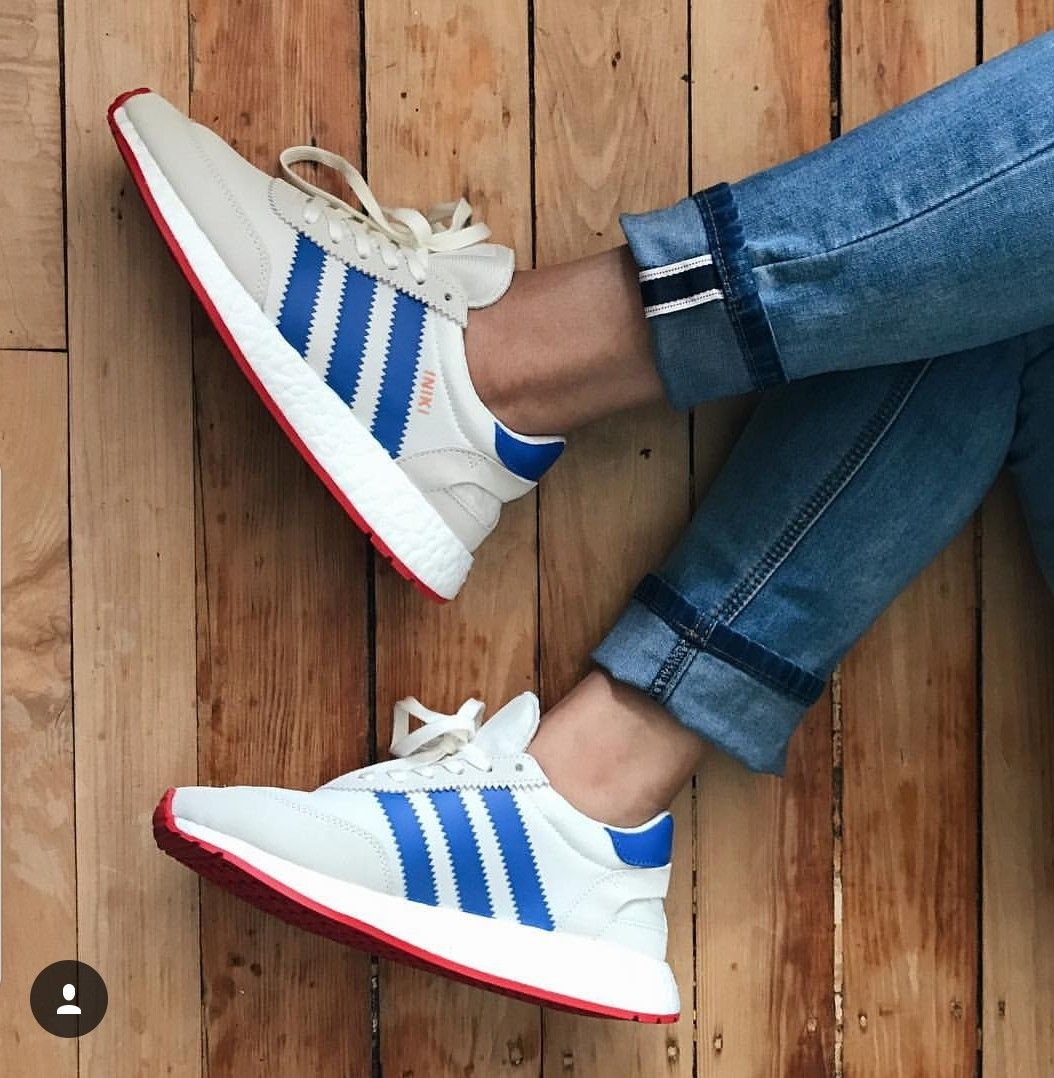 Adidas Iniki Runners Off whitebluecore red I would like