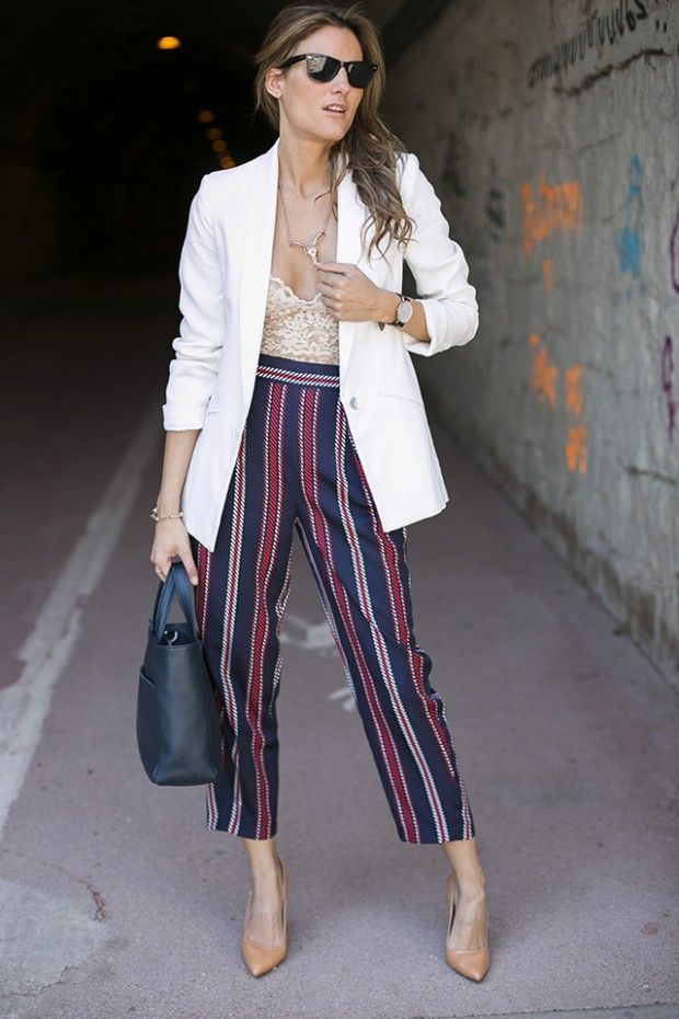 23 Incredible Combinations With White Blazers White Blazer Women White Blazer Blazers For Women