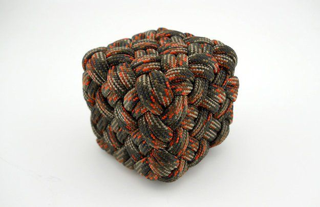 Paracord Cube Instructions Pdf In French Corde De Parachute