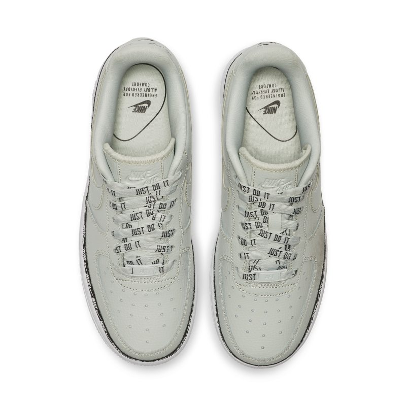 Nike Air Force 1 07 SE Premium Overbranded Women s Shoe - Silver 3dd3bcab5