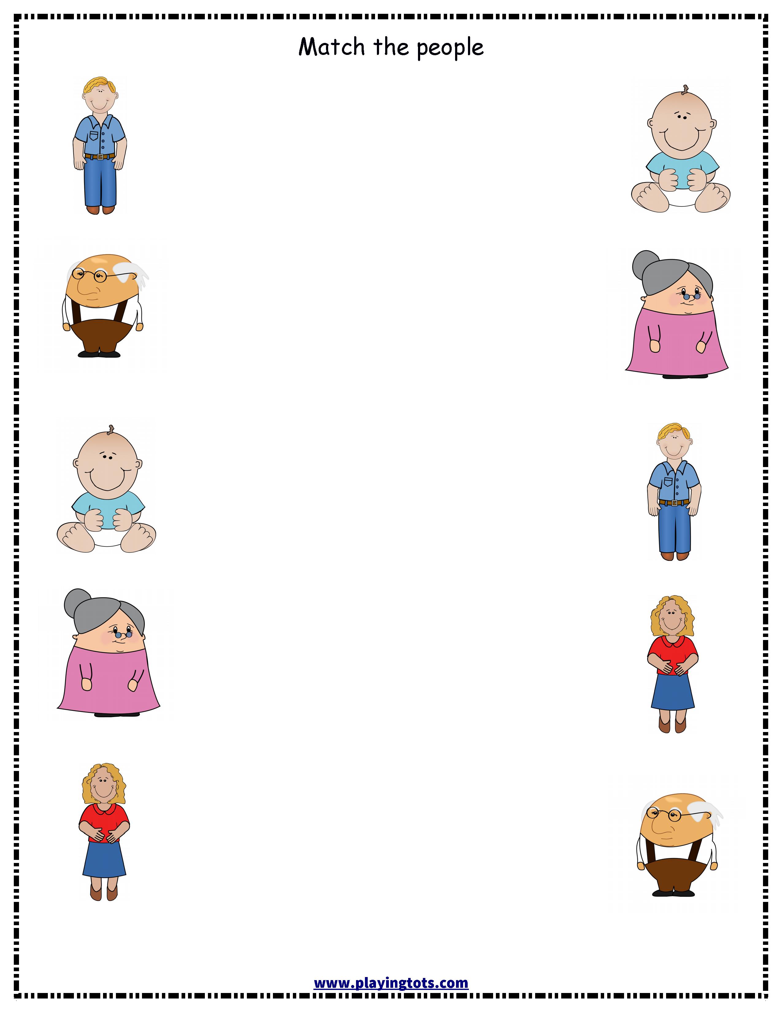 worksheet,people,family,free,printable,toddler,preschool,kid,file ...