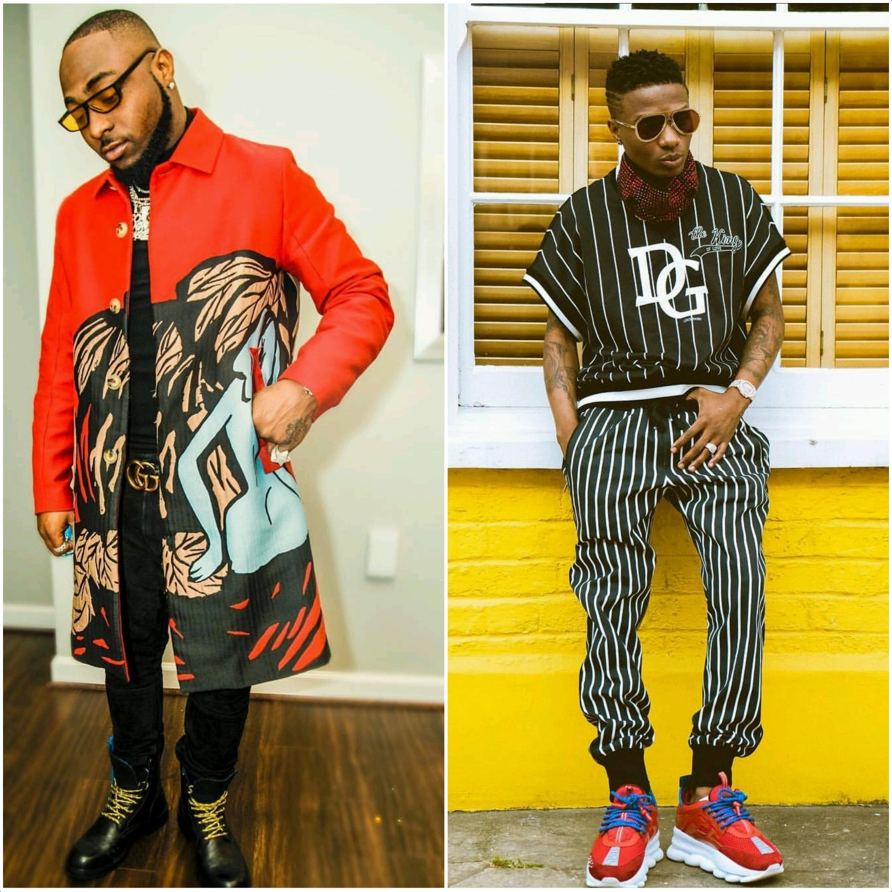 Wizkid And Davido Battles For The Greatest At The 2018