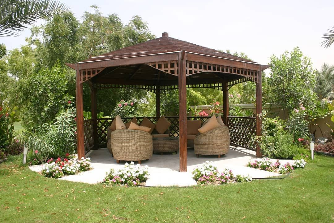 Your Backyard Gazebo And Landscape Design Modern Gazebo Garden