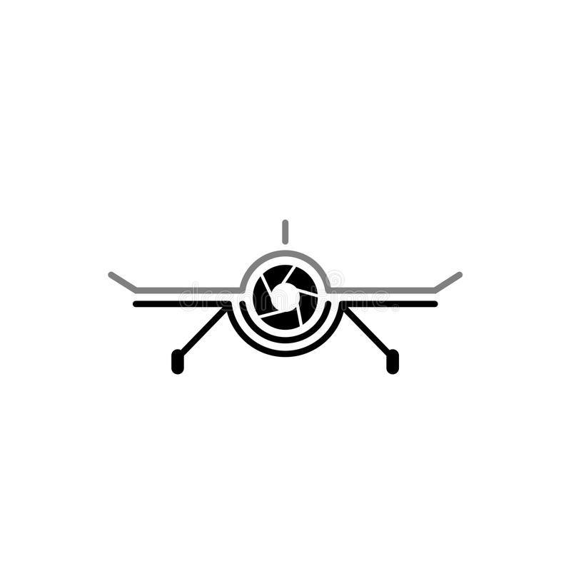 Aerial Drone Cam Photography Logo Design Template Drone Camera Photography Technology Logo Vecto Camera Logos Design Photography Logos Photography Logo Design