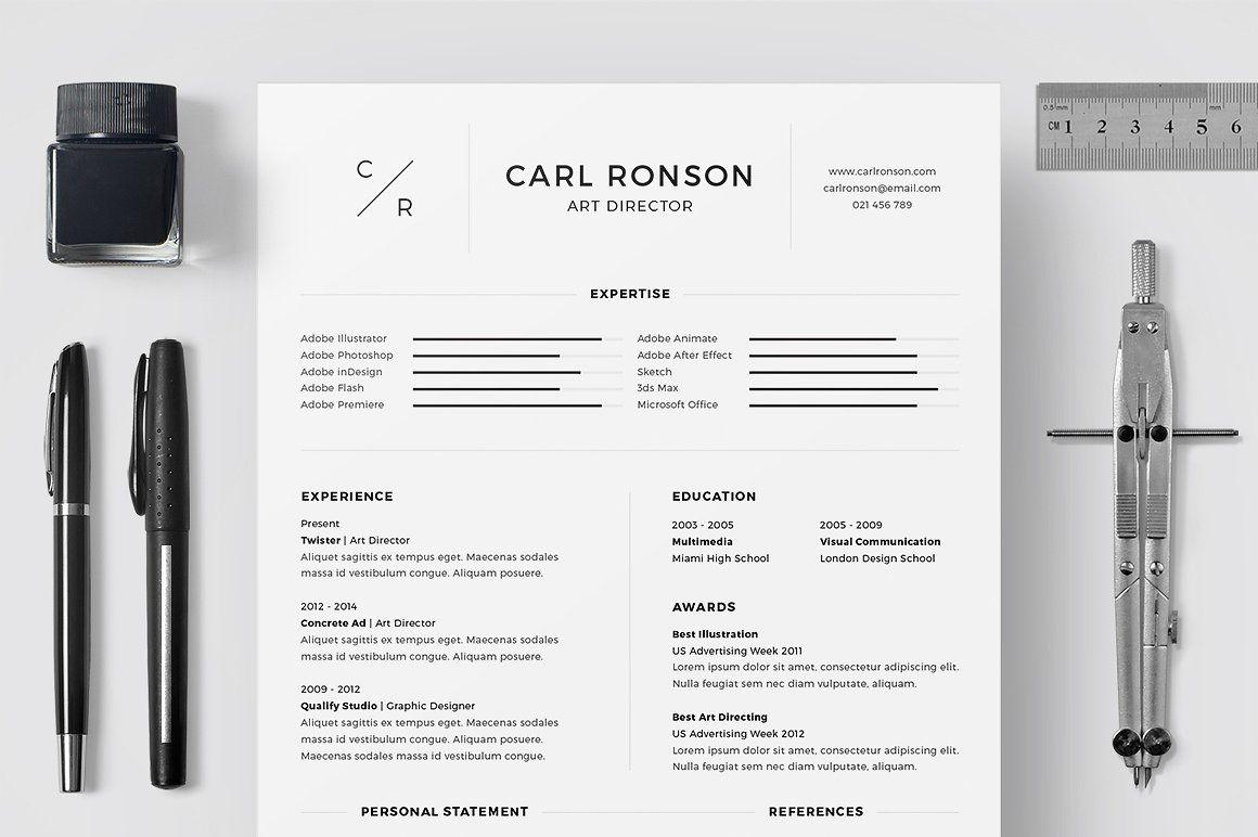Resume/CV - Carl Ronson | Pinterest