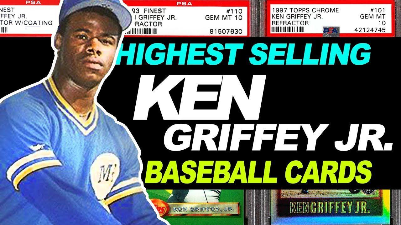 Top 15 Ken Griffey Jr Baseball Cards 1989 Rookie Card
