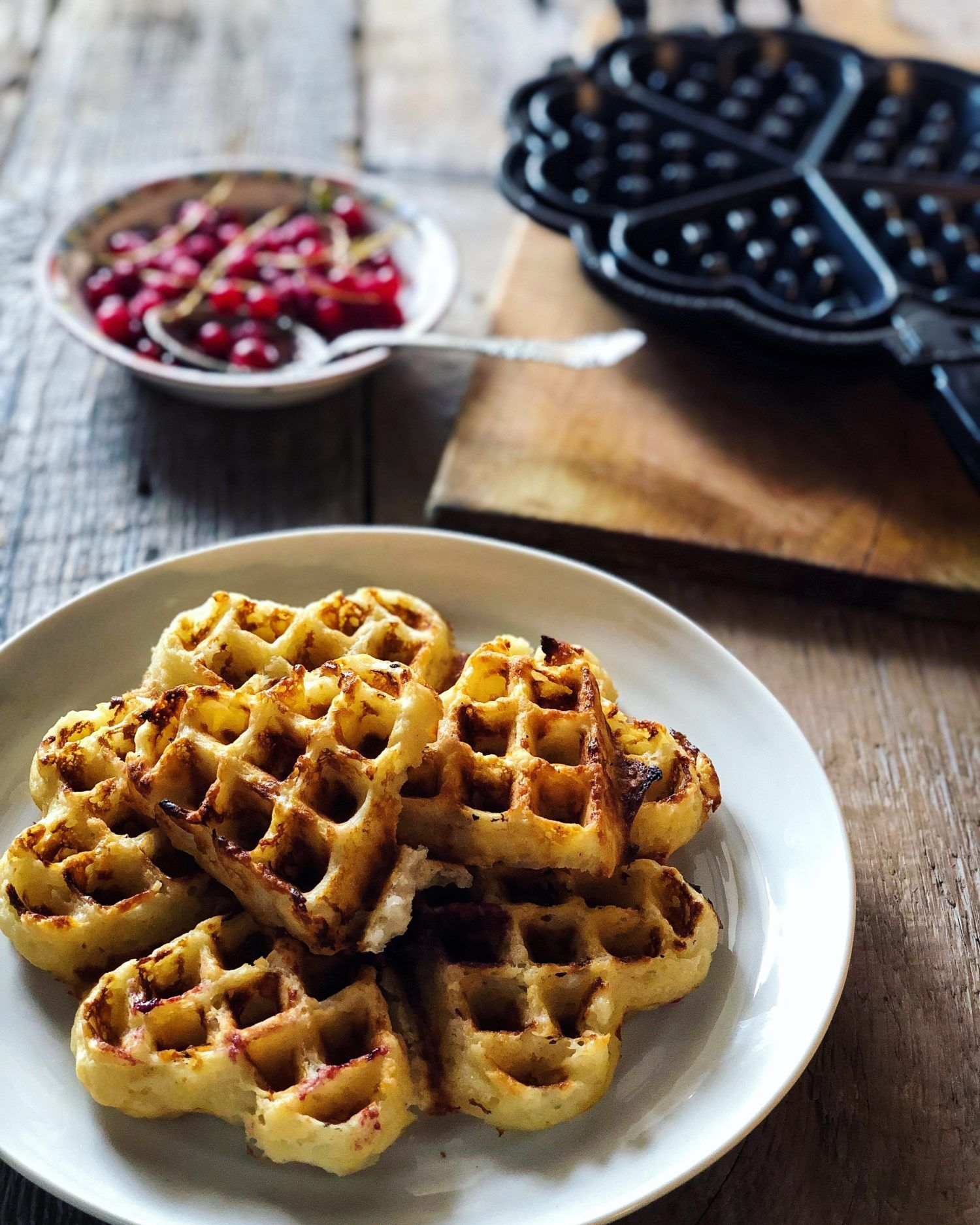 Scandinavian Crisp Waffles Whipped Cream Waffles Swedish Heart Shaped Waffles Crispy Waffle Waffles Waffle Maker Recipes
