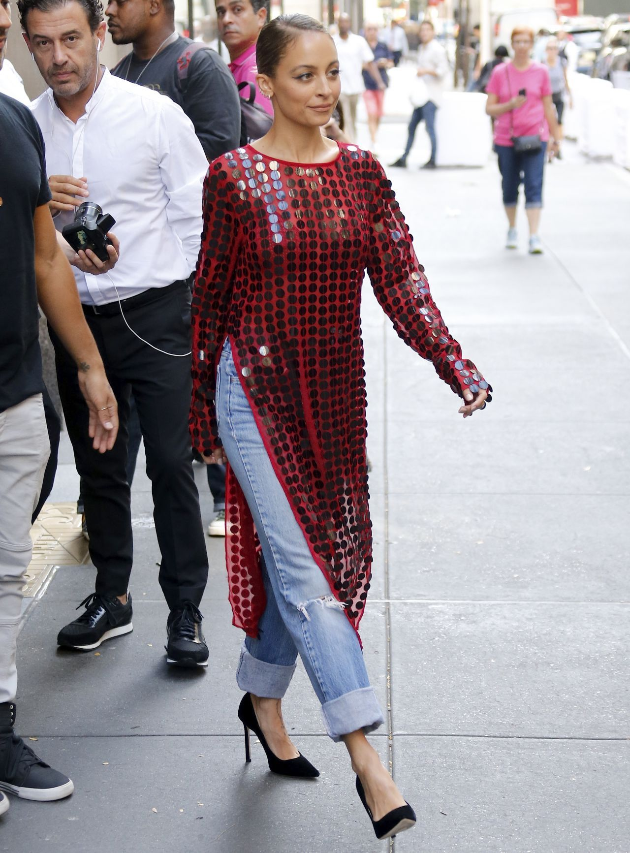 Nicole richie leaves today tv show in new york nudes (25 photos), Pussy Celebrites image
