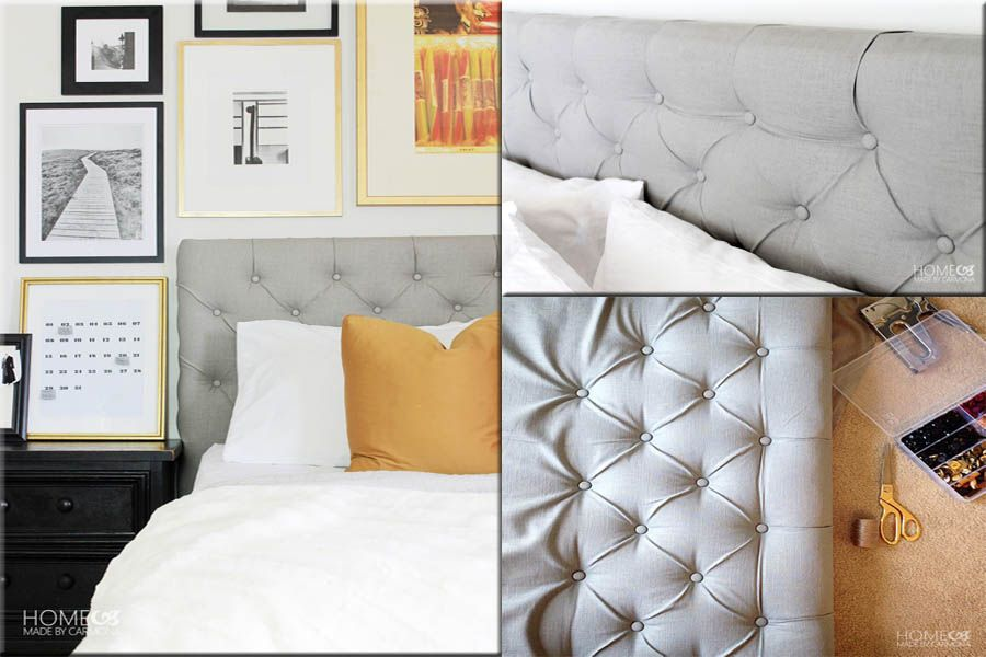 Diy Projects · Diamond Tufted Headboards Are Stunning, But So Prohibitively  Expensive. If You Want To Make
