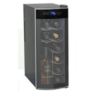 Avanti 12 Bottle Wine Cooler Ewc1201 At The Home Depot Best Wine Refrigerator Wine Refrigerator Best Wine Coolers