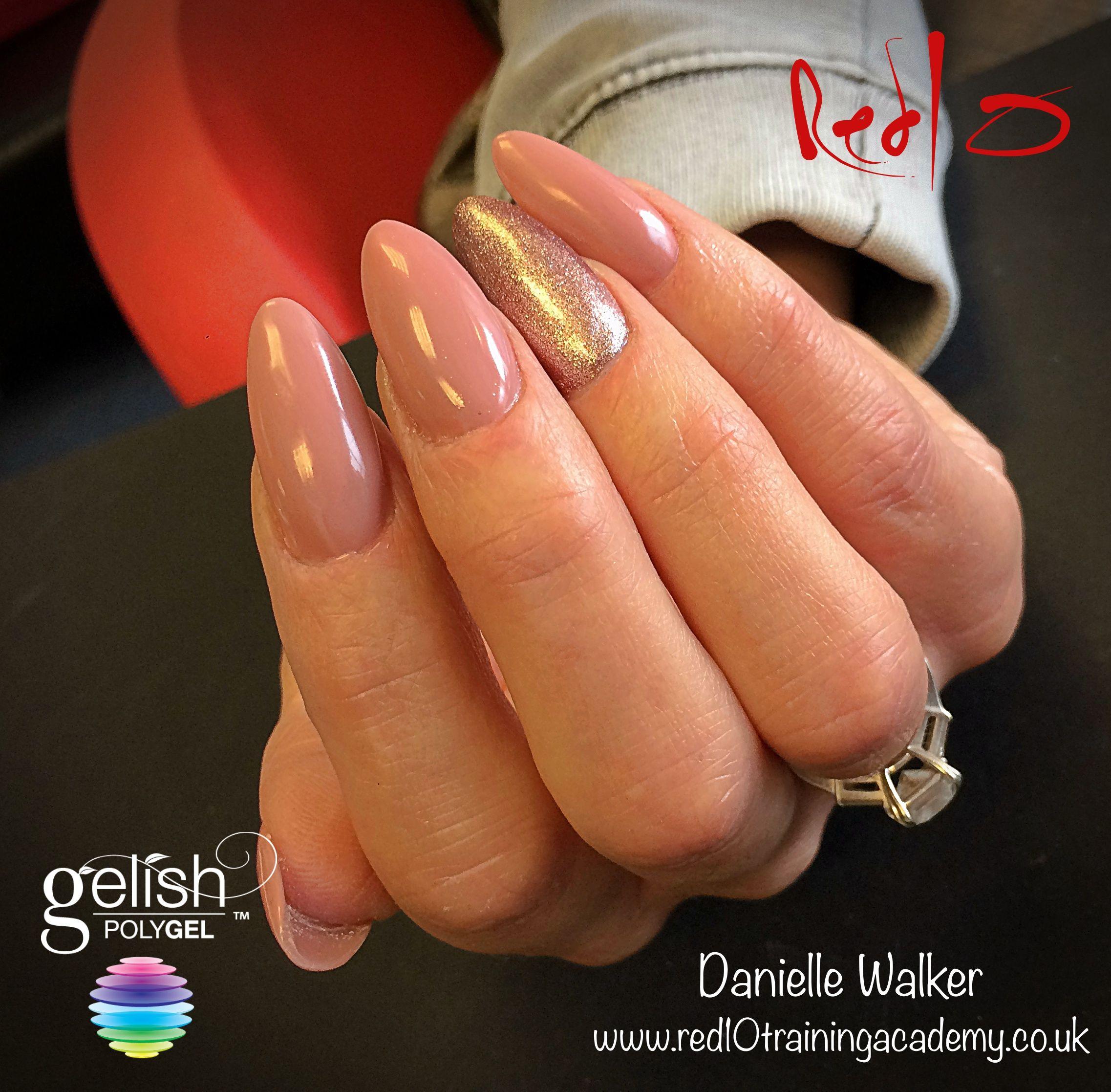 Nude Nails Polygel Nails Simple Nail Design Red10 Nail Bar
