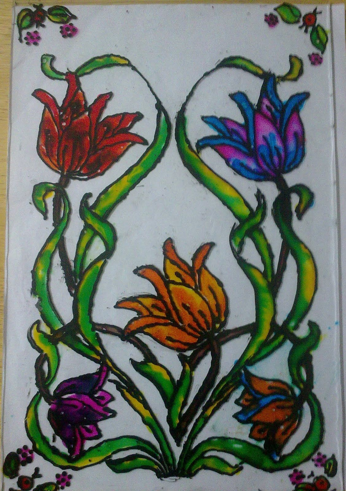 Painting On Glass Glass Painting Workshop Conducted For Kids In