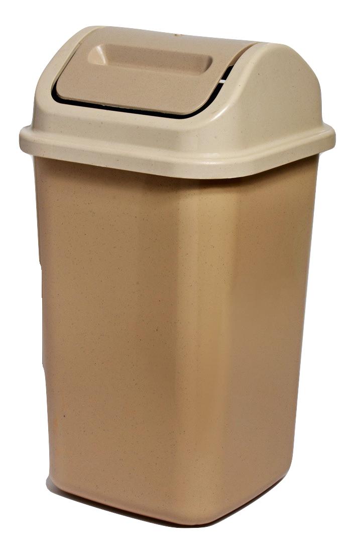 سطل قمامة كبير Large Bucket Trash Can Plastic Items Tall Trash Can