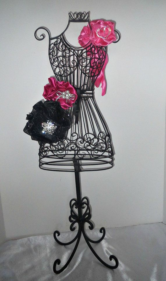 Bachelorette Party dress form centerpiece for by thealteredchick ...