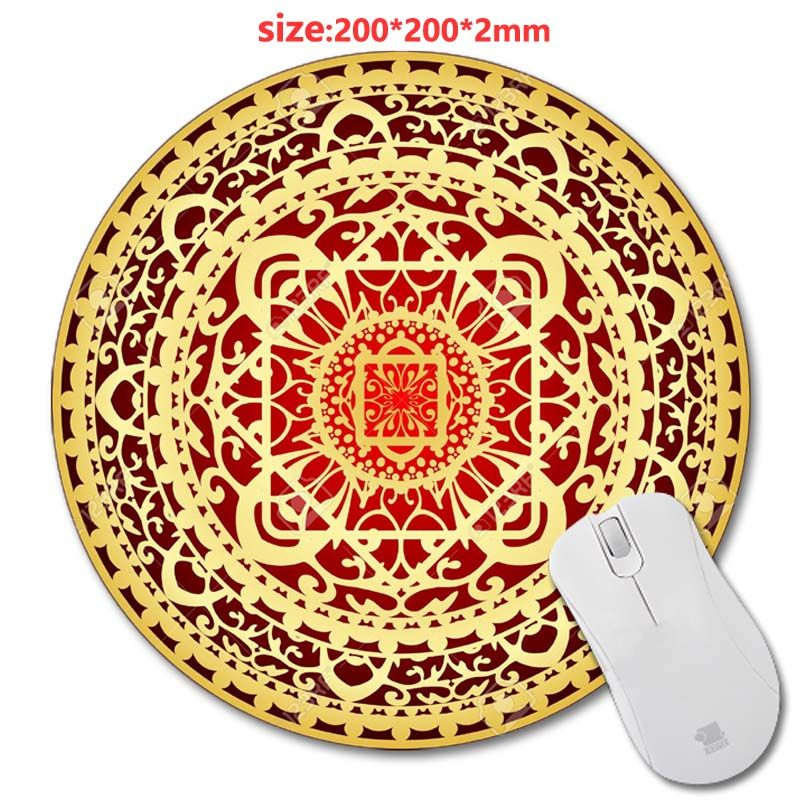 the new styles persian carpet round mouse mat custom high quality