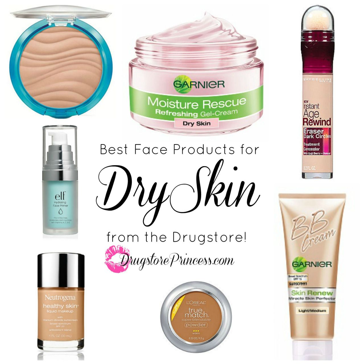 Drugstoreprincess Com S Favorite Face Products For Dry Skin Those Of You With Flaky Patches Tightness And Ro Dry Skin Care Mask For Dry Skin Dry Skin Makeup