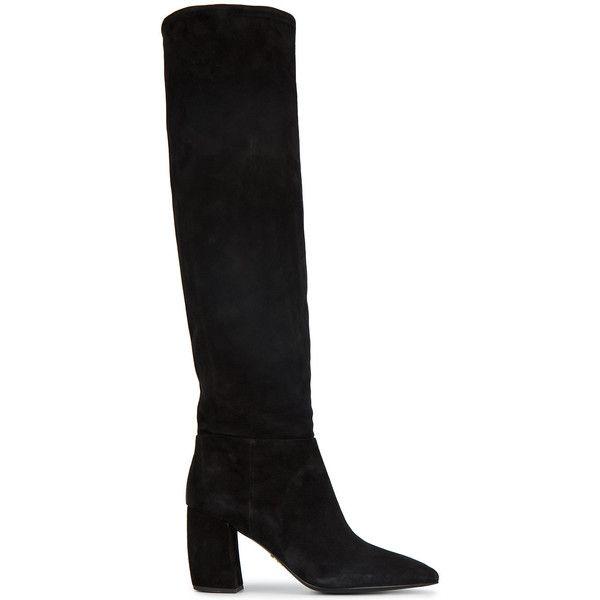 Prada110 knee high boots Jeu Avec Paypal Arriver À Acheter À Vendre qZjTvx7Wf