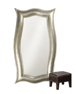 Silver Wall Mirrors Cheap Have you used a extra large mirror