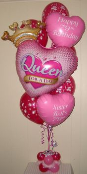 Adult Birthday Party Mom Ideas Balloon Decorations Themes