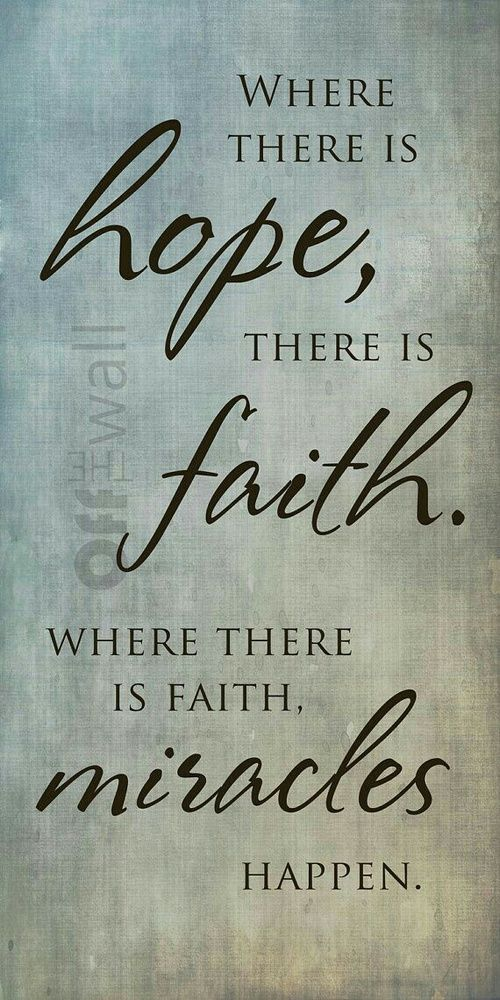 faith, hope, and miracles image