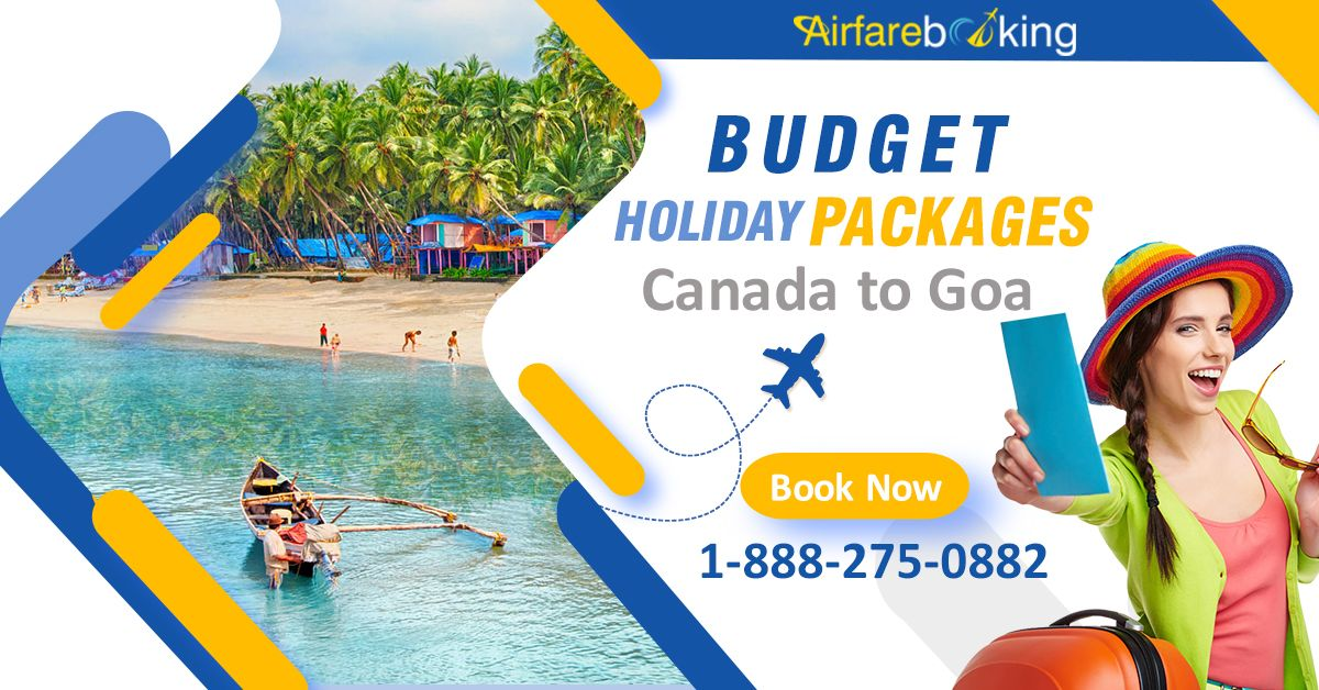 Get the best offers with #Airfarebooking on #Canada to #Goa Tour Packages at reasonable prices. Contact us today for exciting travel deals!  For more information CALL:- 1-888-275-0882 (Toll-Free).  #goatourism #tourism #travel #traveltogoa #tourist #holiday #vacation #trip #travelling #CanadaToIndia #FlightDeals #ExploreIndia #cheapairtickets #Traveldestinations #besttraveltips #airlines #FlightsDeals #canadatoindiaflights
