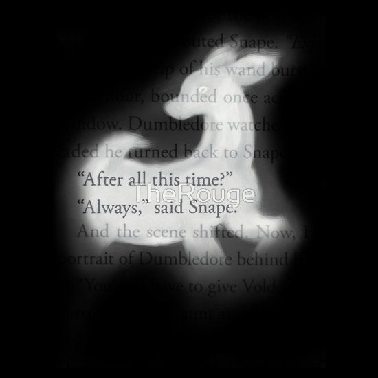 """Harry Potter Quotes Wallpaper: """"After All This Time?"""""""