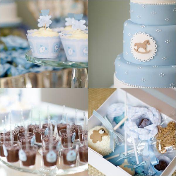 Mesa dulce bautizo azul ideas b ag pinterest mesa for Mesa de dulces para bautizo de nina